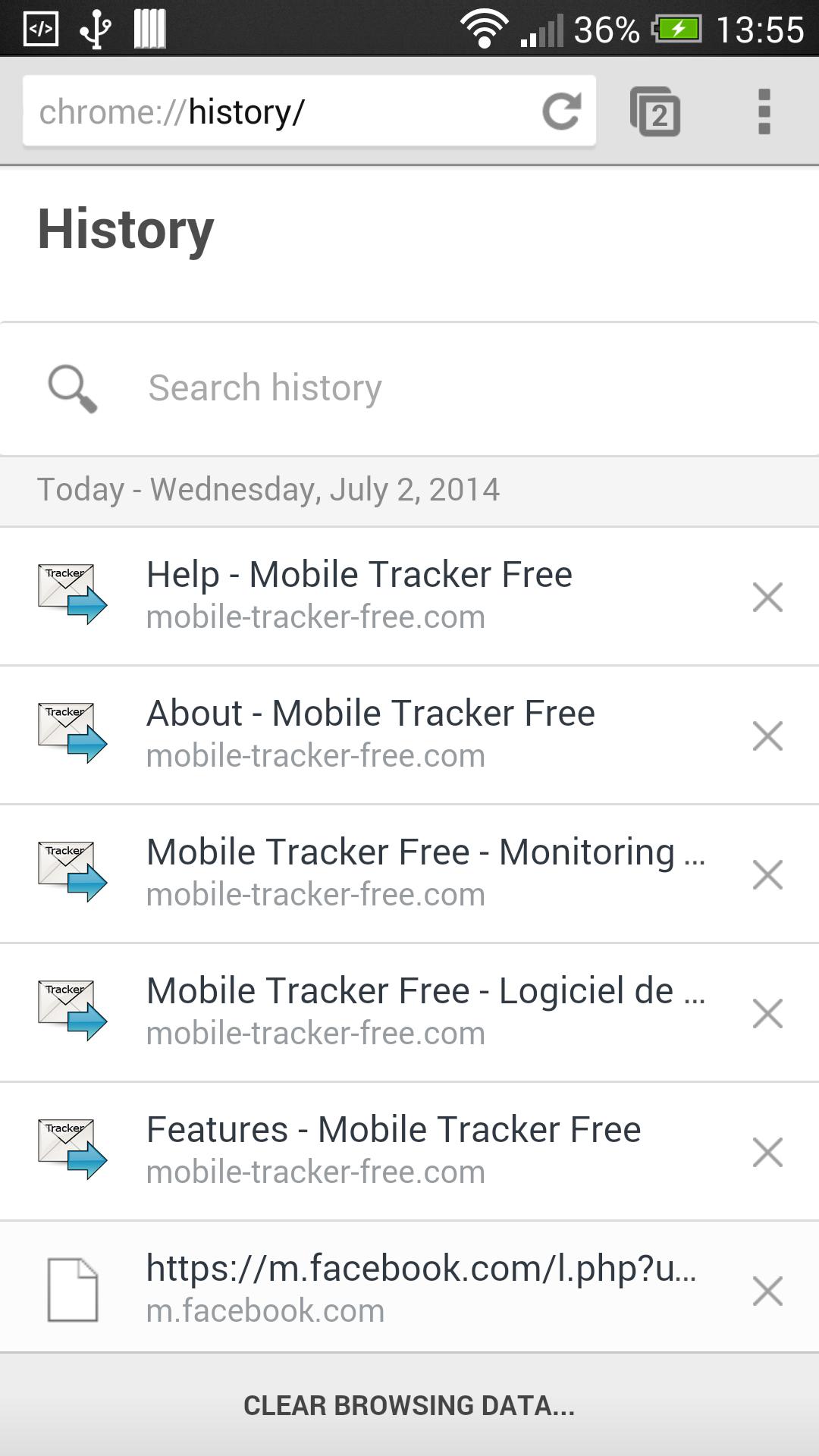 Help - Tracker Free